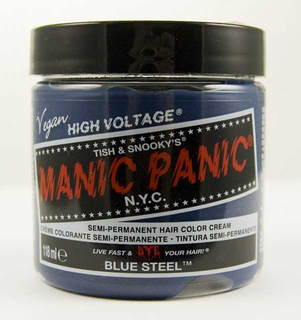 Manic Panic Classic Cream Hair Dye 118ml (Blue Steel)