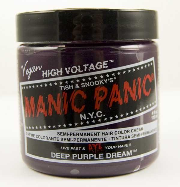 Manic Panic Classic Cream Hair Dye 118ml (Deep Purple Dream)