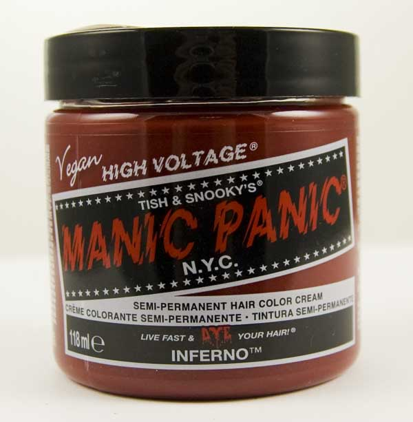 Manic Panic Classic Cream Hair Dye 118ml (Inferno)