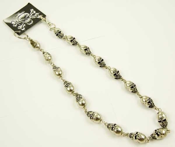 Key Chain Bike Chain Skulls