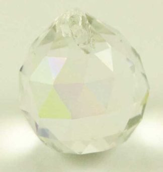 Crystal 20mm Hanging Ball AB 2pcs