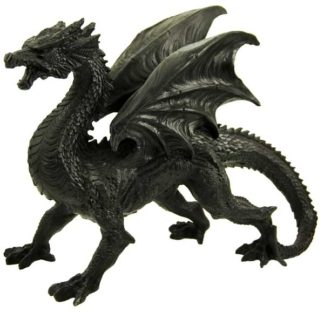 Dragon Black 31X13.5X24cm