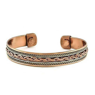 Bracelet Copper Magnetic Twist