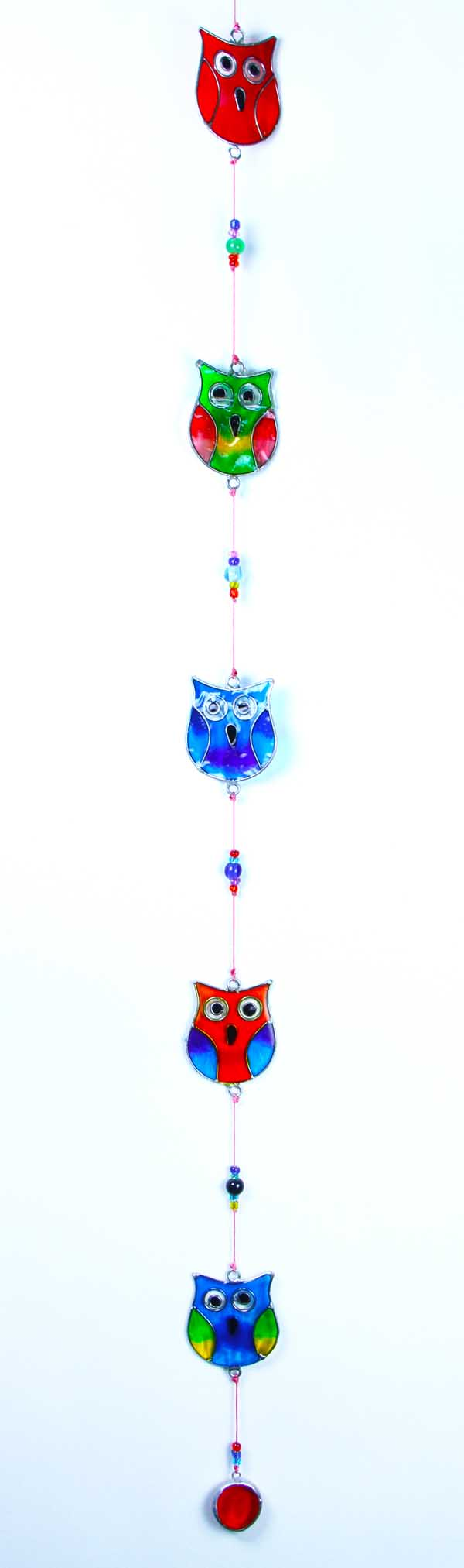 Suncatcher Owls On String