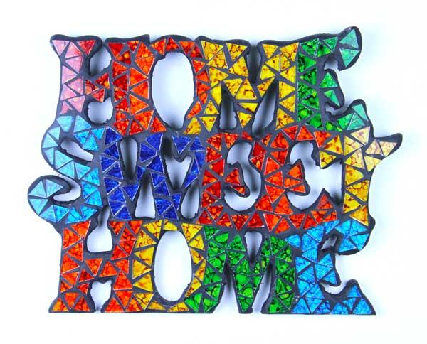 Wall Plaque Home Sweet Home