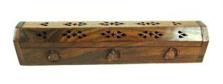 Incense Box Wood Buddha
