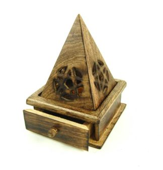 Ash Catcher Cone Holder Pentagram