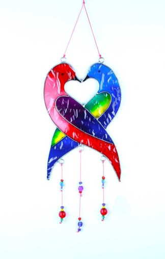 Suncatcher Love Birds 31cm**BUY 12 PCS FOR £2.25 EACH