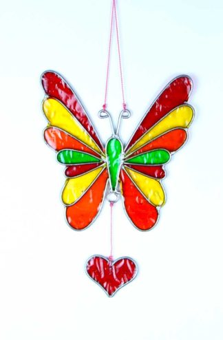 Suncatcher Butterfly Rainbow**BUY 12 PCS FOR £2.00 EACH