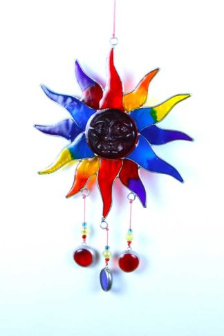 Suncatcher Sun 30cm**BUY 6 PCS FOR £3.50 EACH