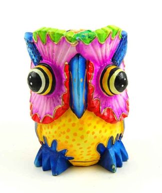 Owl Wooden Mexican