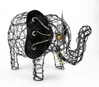 Elephant Wired Egg Basket