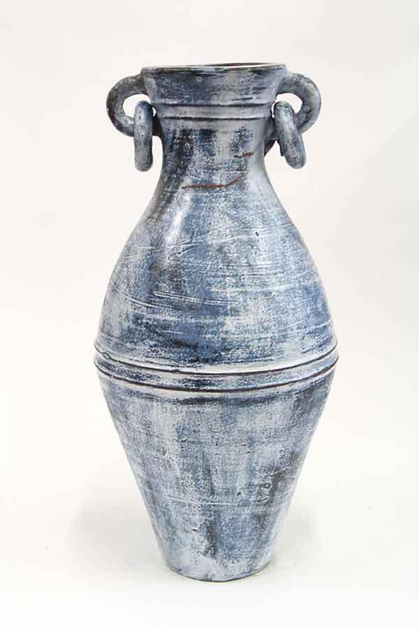 Ceramic Garden Vase with Handles