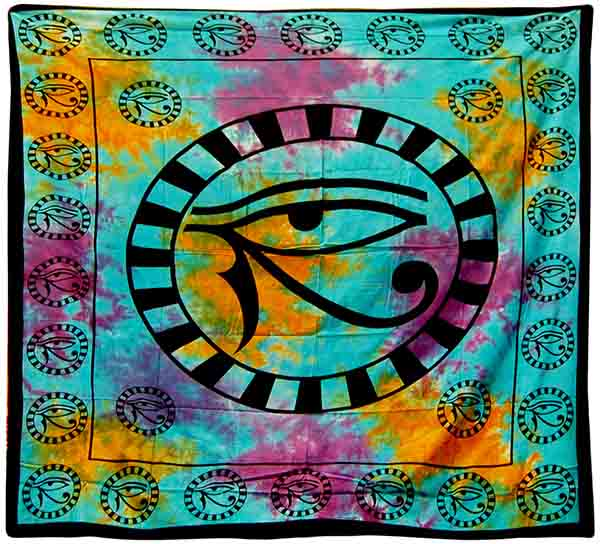 Bedspread Double Egyptian Turquoise
