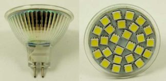 LED Bulb MR16 27 SMD White