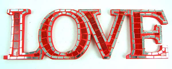 Mirror Love Red 10cm