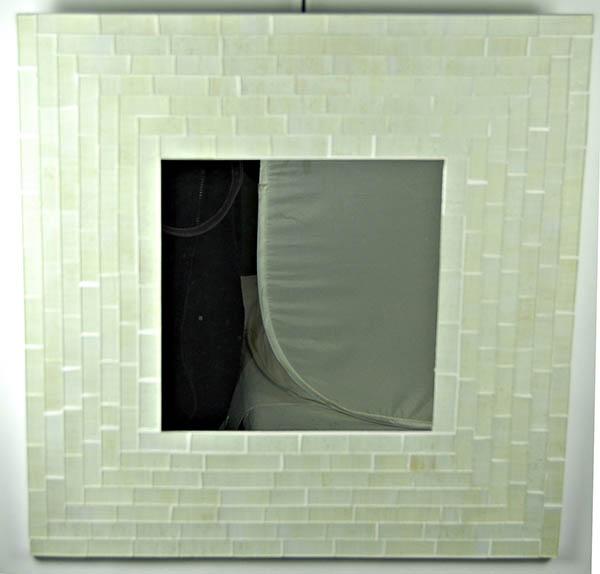 Mirror Square Silver 40X40cm