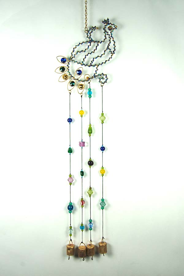 Wind Chime Peacock