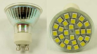 LED Bulb GU10 27 SMD White
