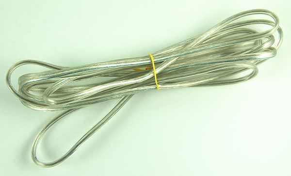 Transparent 2-Core Wire 0.50mm