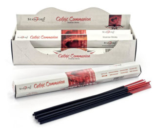 Incense Stick Stamford Hexagonal Gothic Communion 6pcs