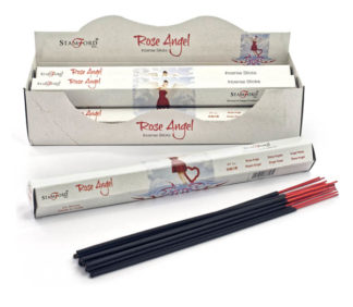 Incense Stick Stamford Hexagonal Rose Angel 6pcs