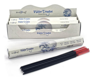 Incense Stick Stamford Hexagonal Water Dragon 6pcs