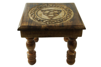 Altar Table Wooden Triquetra