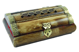 Box Bone Antique 5X3 Inch