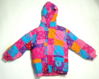 Childrens Coat Patchwork