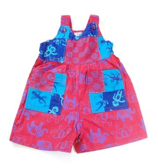 Childrens Playsuit Patchwork