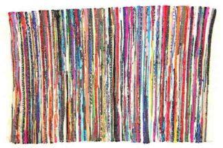 Rug Rag Style Cotton 90X150cm