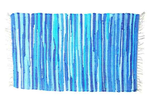 Rug Rag Style Blue 60X90cm