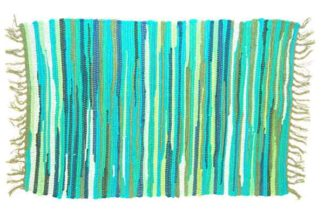 Rug Rag Style Green 60X90cm*BUY 6PCS FOR £2.50 EACH