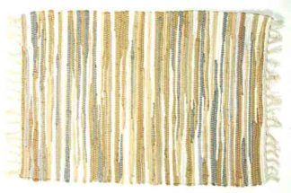 Rug Rag Style Natural 60X90cm*BUY 6PCS FOR £2.50 EACH