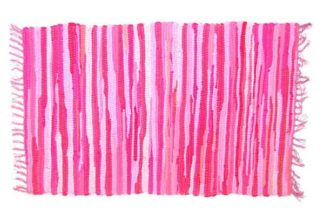 Rug Rag Style Pink 60X90cm*BUY 6PCS FOR £2.50 EACH