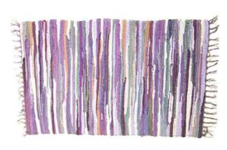 Rug Rag Style Purple 60X90cm*BUY 6PCS FOR £2.50 EACH