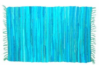 Rug Rag Style Turquoise 60X90cm*BUY 6PCS FOR £2.50 EACH