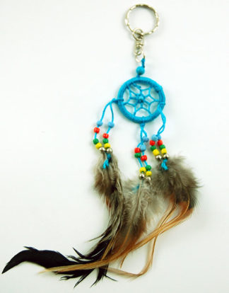 Dream Catcher Keyring Turquoise