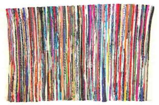 Rug Rag Style Cotton 90X150cm*BUY 6PCS FOR £3.50 EACH