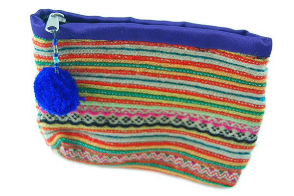 Purse Ethnic Floral Embroidery
