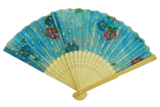 Fan Natural Bamboo