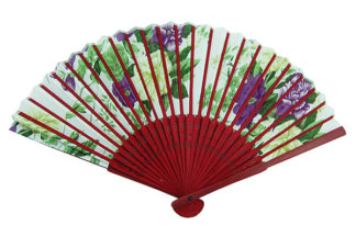 Fan Red Bamboo