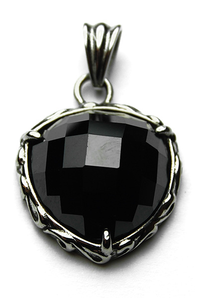 Pendant Stainless Steel Black