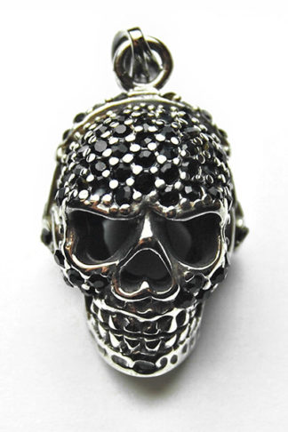 Pendant Stainless Steel Skull