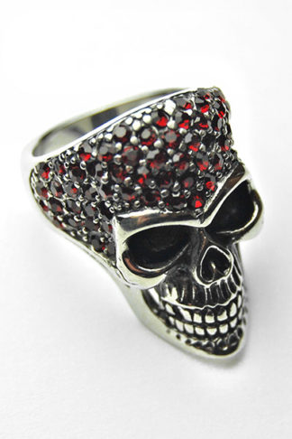 Ring Stainless Steel Skull