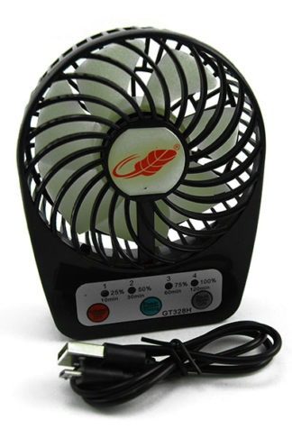 Fan Portable Black