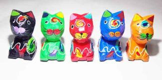 Cat Set Of 5
