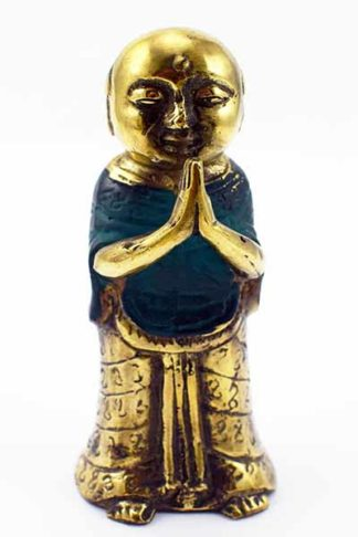 Monk Metal Gold And Turquoise