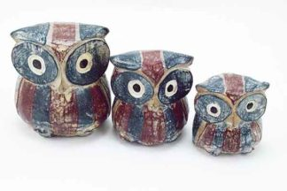 Owl Wooden Set Of 3